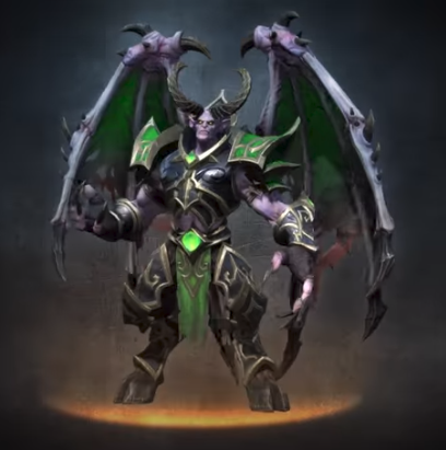 WarCraft 3 Reforged Mal'Ganis demon